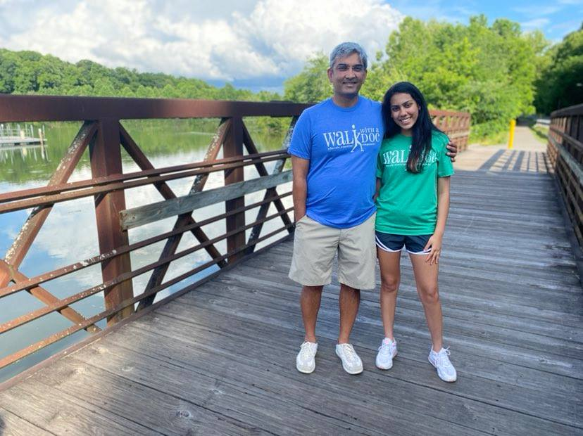 """Daughter of Dr. Milan Sheth Inspires """"Walk with a Doc"""""""